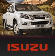 New Isuzu vehicles